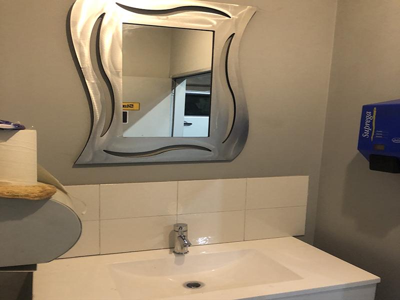 Commercial Factory Bathroom